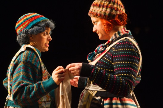 Mary Murray and Sorcha Fox in Tiny Plays 2. Image be Pat Redmond
