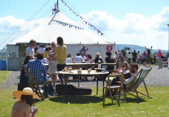 Borris House Tent - Writers Festival