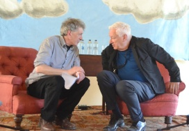Michael Craig Martin and Aidan Dunne Interview