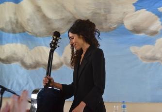 PJ Harvey with Guitar - Borris House