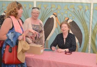 Selina Hastings Signing