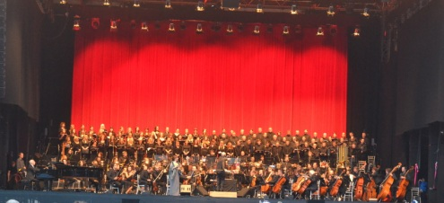 Ennio Morricone and 200 piece Orchestra