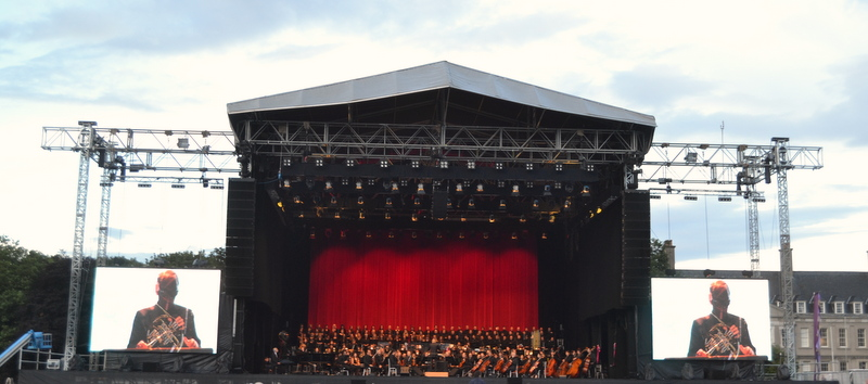 Ennio Morricone on Stage in Dublin