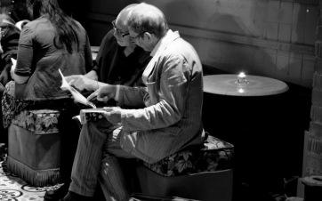Daniel Riordan - Studying the Brochure - Dublin Fringe Festival