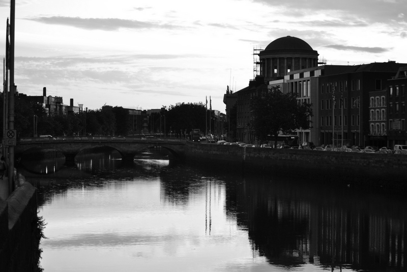 Dublin - From Capel Street Bridge