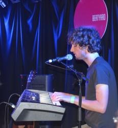 Sam Amidon on Keyboard at Whelans