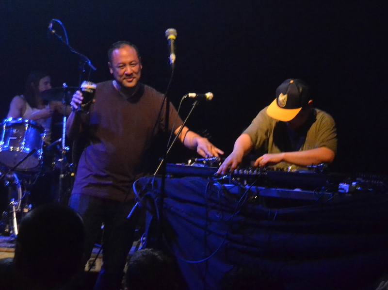 Dan and Kid Koala at the Button Factory