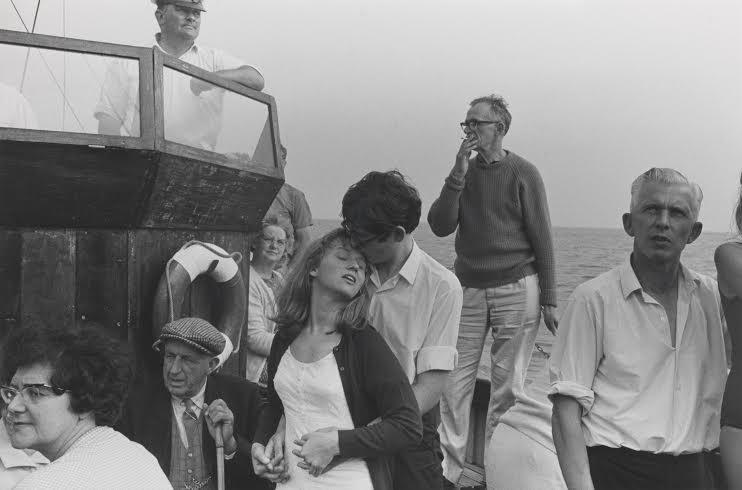 Beachy Head Boat Trip - 1967 by Tony Ray-Jones