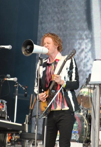 Arcade Fire, Dublin Gig, Guitar