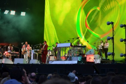 Arcade Fire, Full Band on Stage, Dublin