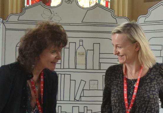 Cathy Davey & Ruth Padel - Festival of Writing and Ideas, Borris