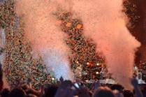 Confetti Cannon, Arcade Fire, Dublin