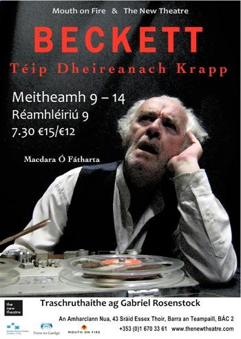 """IRISH - Téip Dheireanach Krapp - NEW THEATRE.docx"""""""