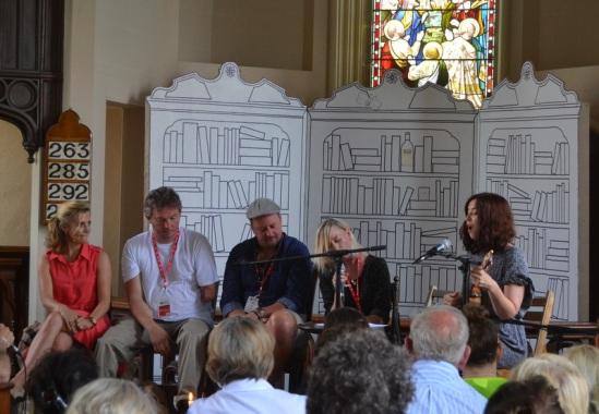 Lisa Dwan, Giles Duley, John Butler, Cathy Davey and Lisa Hannigan - Borris House.