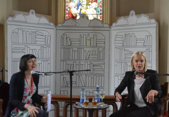 Mariella Frostrup & Sinead Gleeson at Borris Festival, Carlow