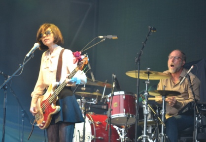 Paz Lenchantin and David Lovering, Pixies