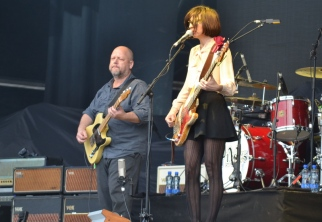 Paz Lenchantin and Frank Black - Pixies Dublin