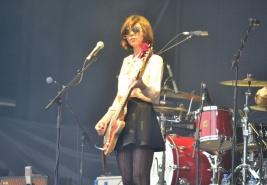 Paz Lenchantin - Pixies, Marlay Park