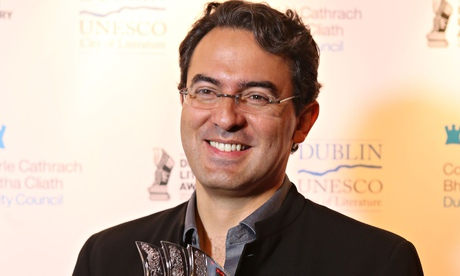 Juan Gabriel Vásquez, winner of the 2014 Impac award