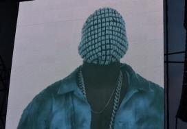 Kanye West on Big Screen