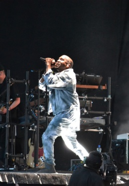Kanye West Performs Marlay Park