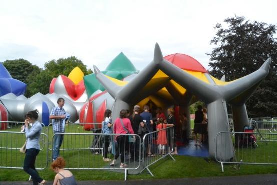 Entrance to Pentalum at Kilkenny Arts Festival
