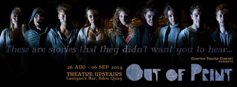 Out of Print - at Theatre Upstairs