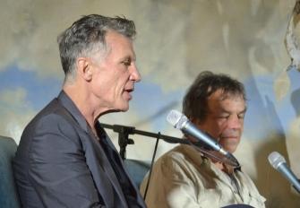 Michael Cunningham and Neil Jordan