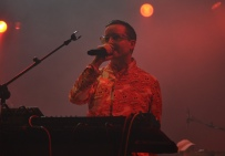 Alexis Taylor - Hot Chip in Red