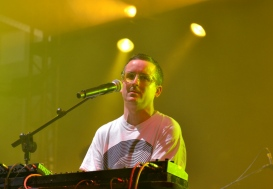 Hot Chip at the RDS, Alexis Taylor