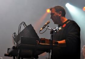 Joe Goddard - Hot Chip - Keyboards - Dublin 2015