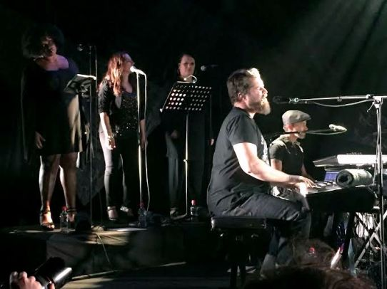 John Grant and Backing Singers