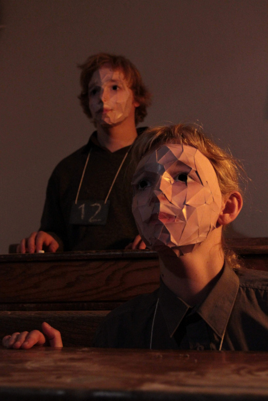 The Blue Boy as part of 2011 Ulster Bank Dublin Theatre Festival.
