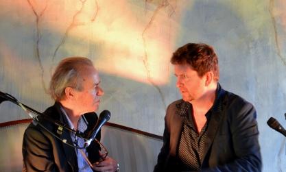 Iain Overton and Martin Amis - Borris