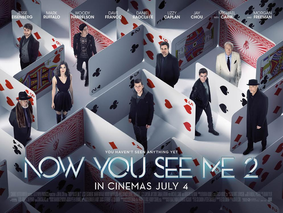 Win Magical Now You See Me 2 Movie Merchandise! – No More Workhorse