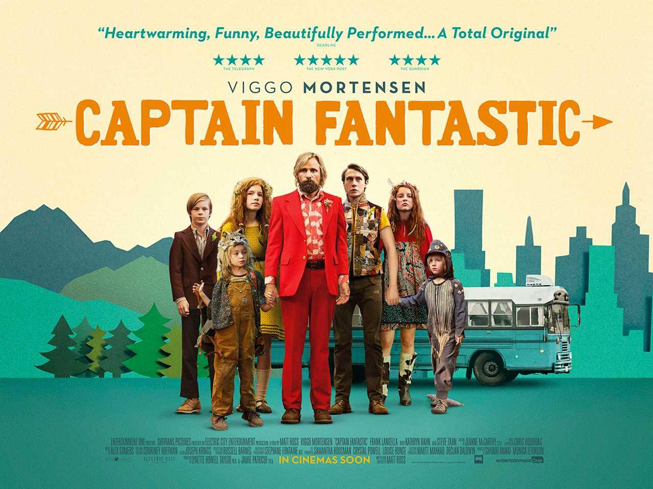 Captain Fantastic – Film Review – No More Workhorse