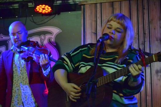 Samantha Crain and Violin