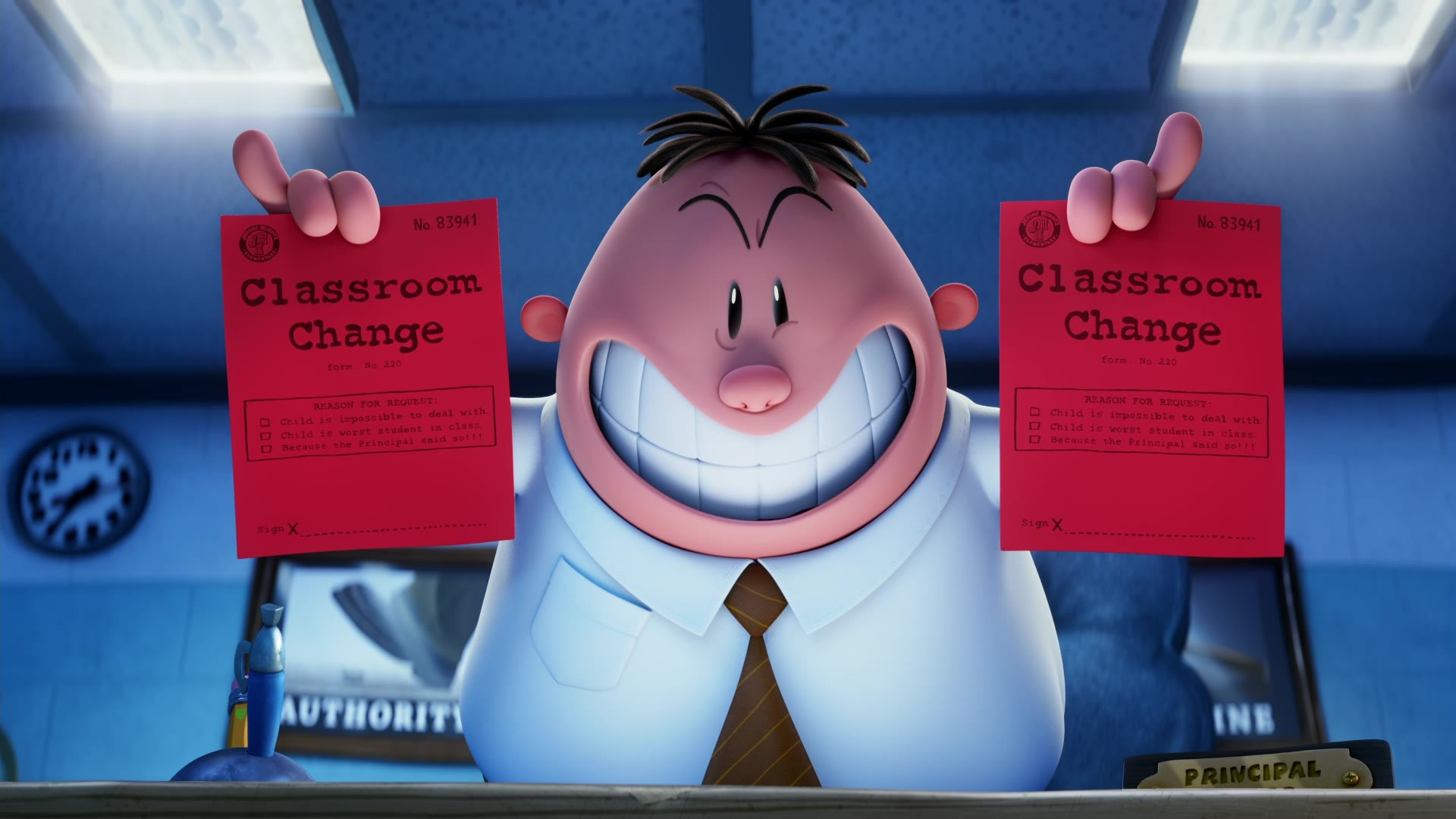 Captain Underpants The First Epic Movie Film Review No More Workhorse