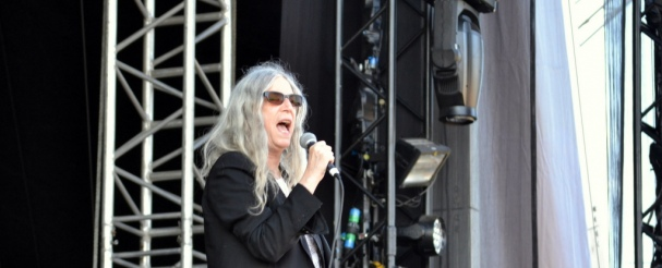 Patti Smith Supports Nick Cave