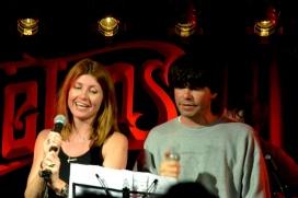 Mic Christopher's 50th - Sharon Horgan and Tim Burgess