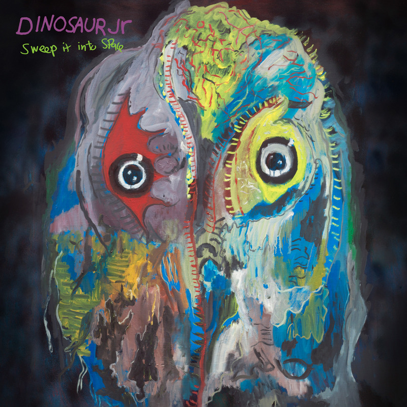 Dinosaur Jr. - Sweep It Into Space COVER